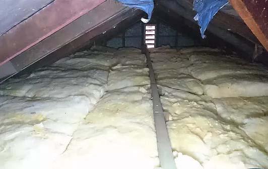 Ceiling Insulation Installation